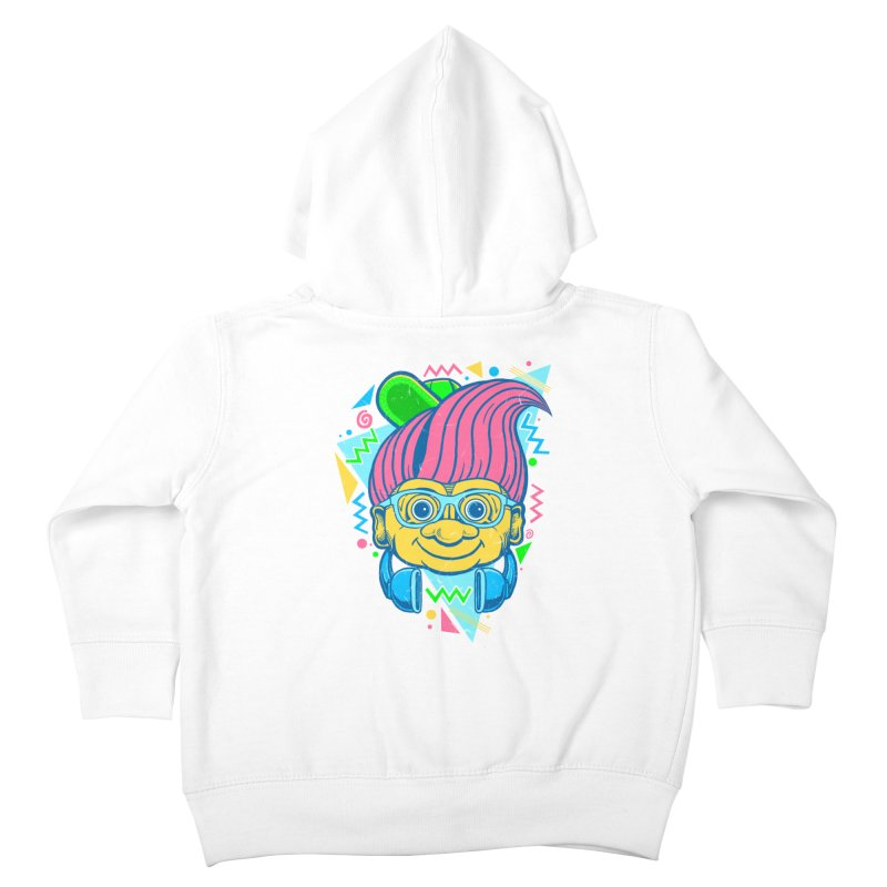 Hip Troll Kids Toddler Zip-Up Hoody by Fathi