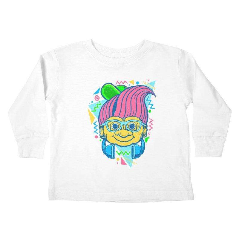 Hip Troll Kids Toddler Longsleeve T-Shirt by Fathi