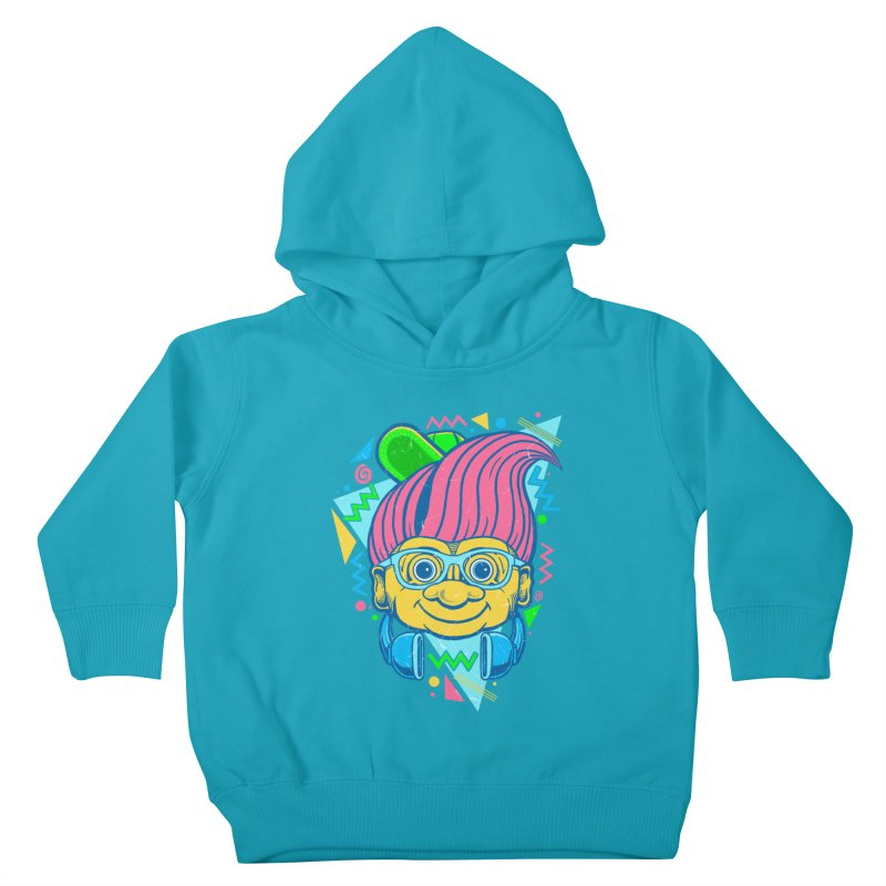 Hip Troll Kids Toddler Pullover Hoody by Fathi