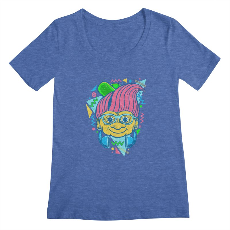 Hip Troll Women's Scoopneck by Fathi