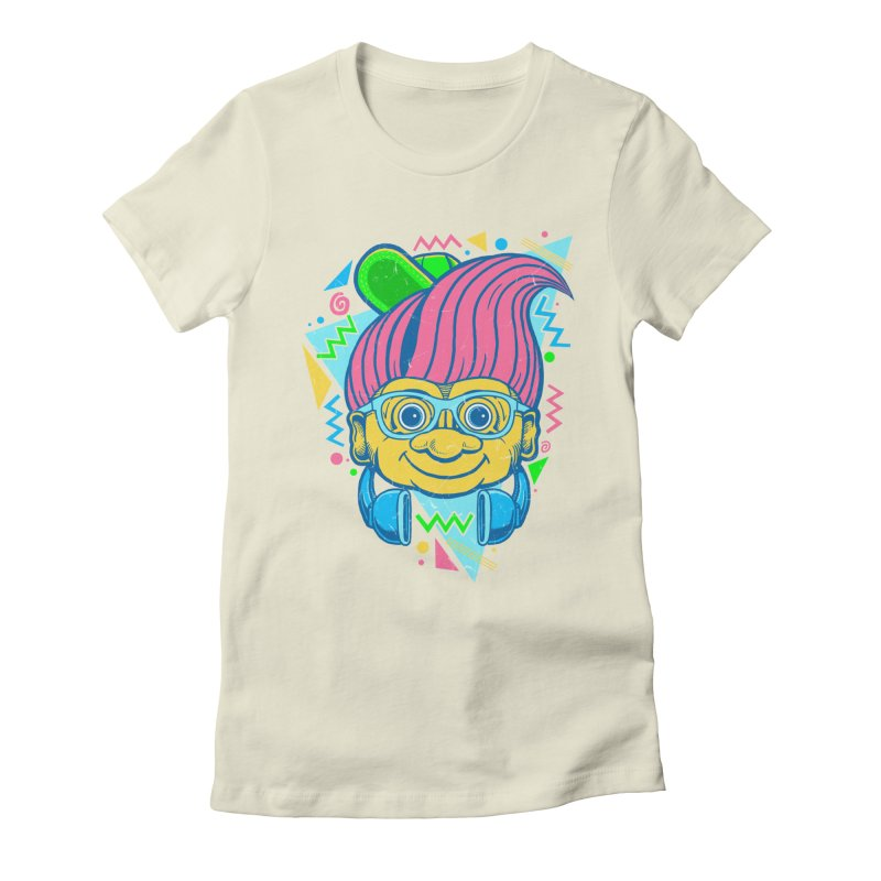 Hip Troll Women's Fitted T-Shirt by Fathi