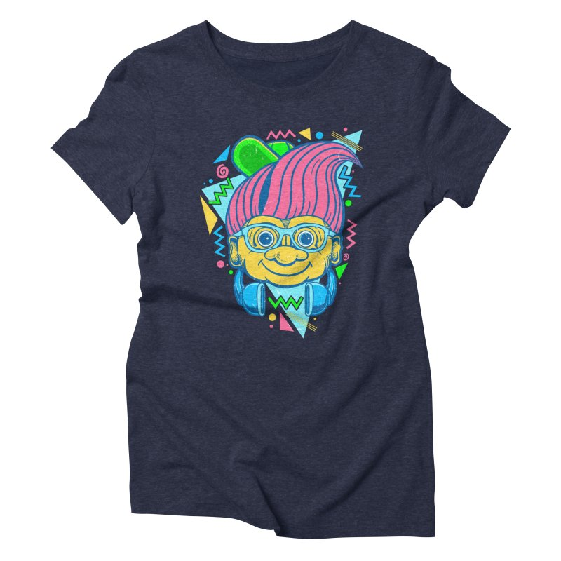 Hip Troll Women's Triblend T-shirt by Fathi