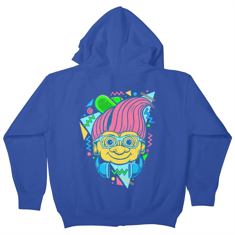 Hip Troll Kids Zip-Up Hoody by Fathi