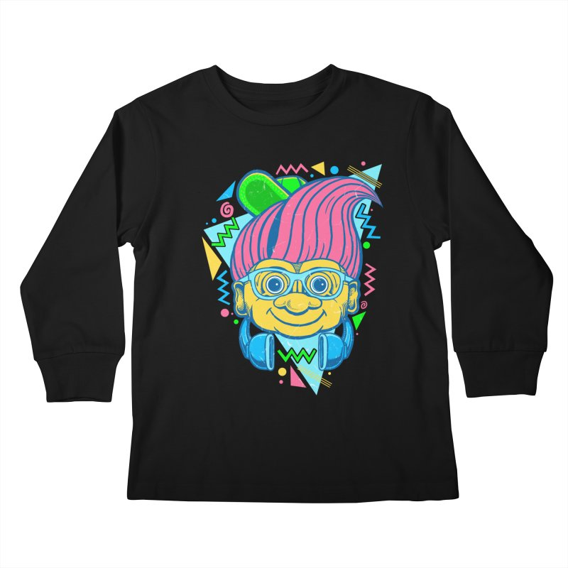 Hip Troll Kids Longsleeve T-Shirt by Fathi