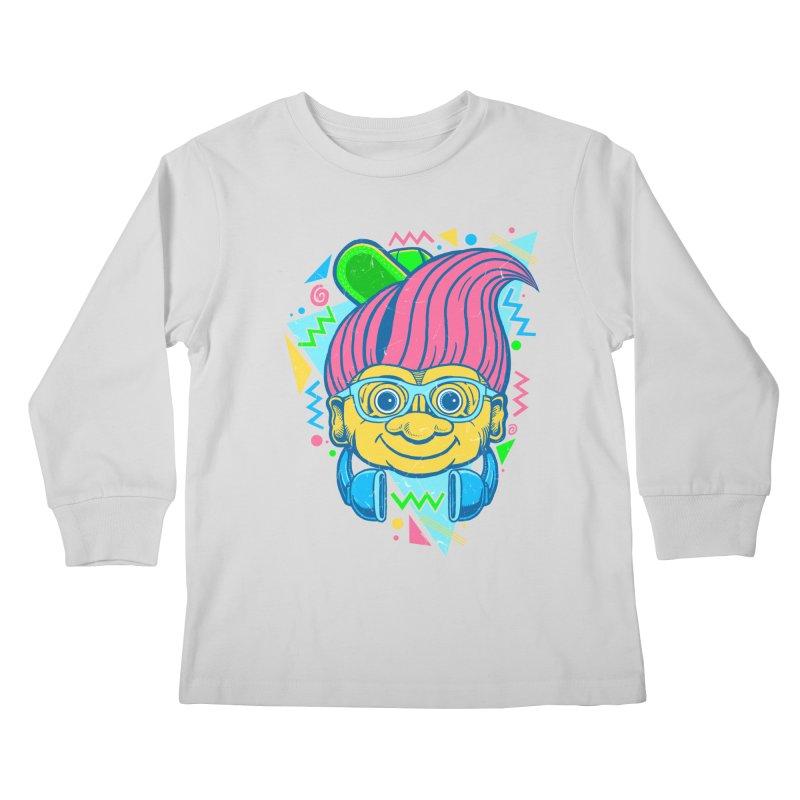 Hip Troll Kids Longsleeve T-Shirt by Fathi