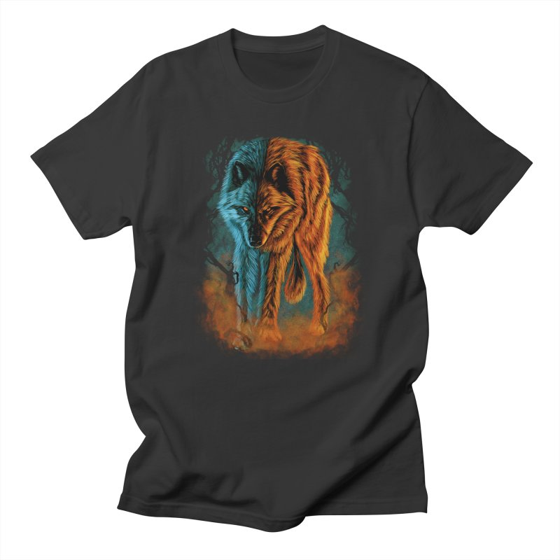 Fire And Ice Women's T-Shirt by Fathi