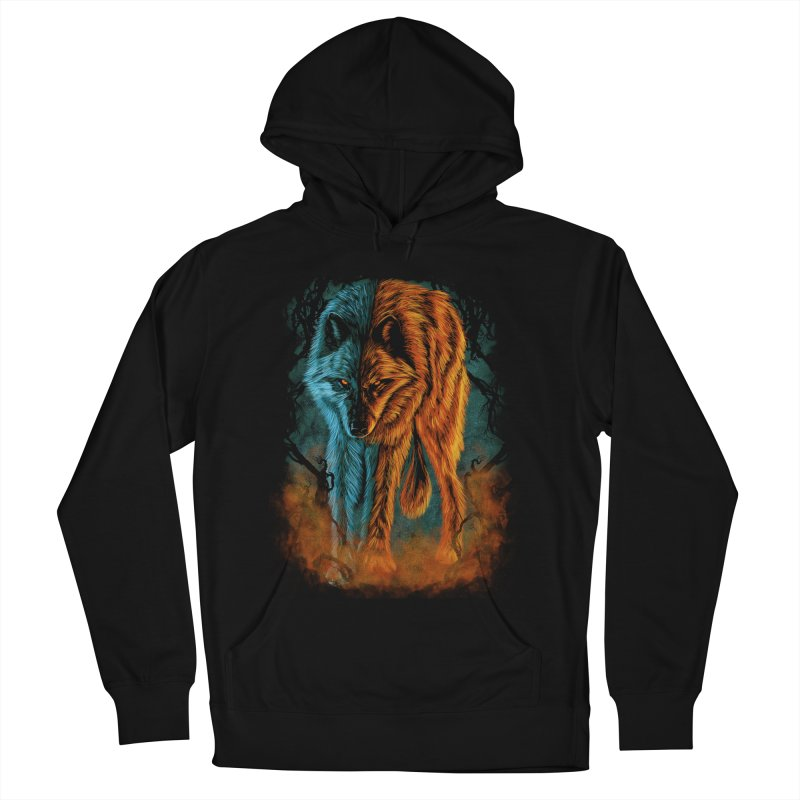 Fire And Ice Men's Pullover Hoody by Fathi