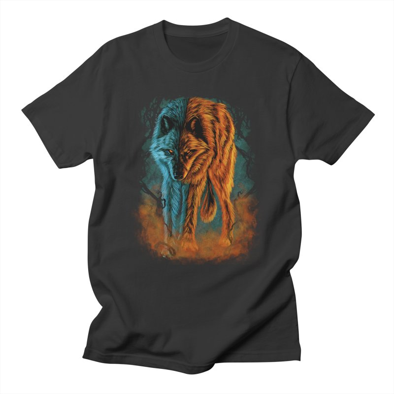 Fire And Ice Women's Regular Unisex T-Shirt by Fathi