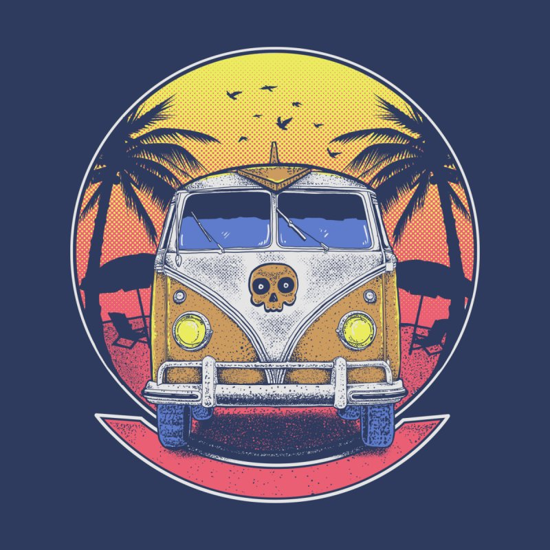 Beach Van None  by Fathi