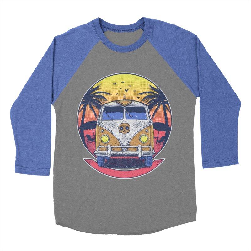 Beach Van Women's Longsleeve T-Shirt by Fathi