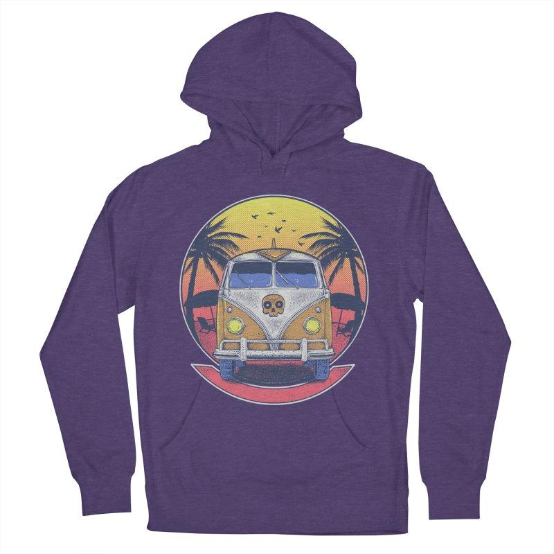 Beach Van Women's Pullover Hoody by Fathi