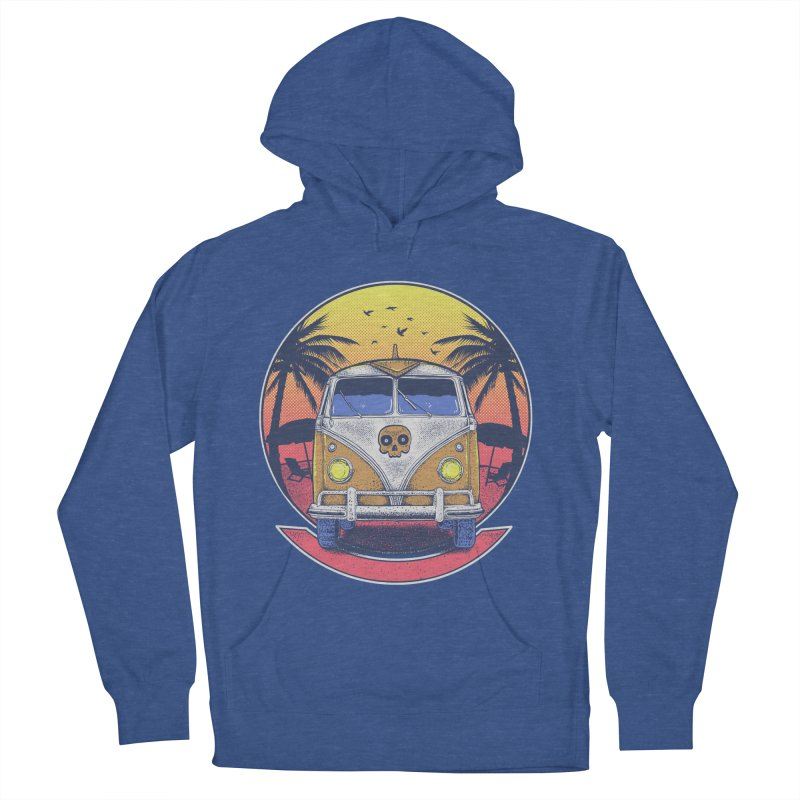 Beach Van Men's Pullover Hoody by Fathi