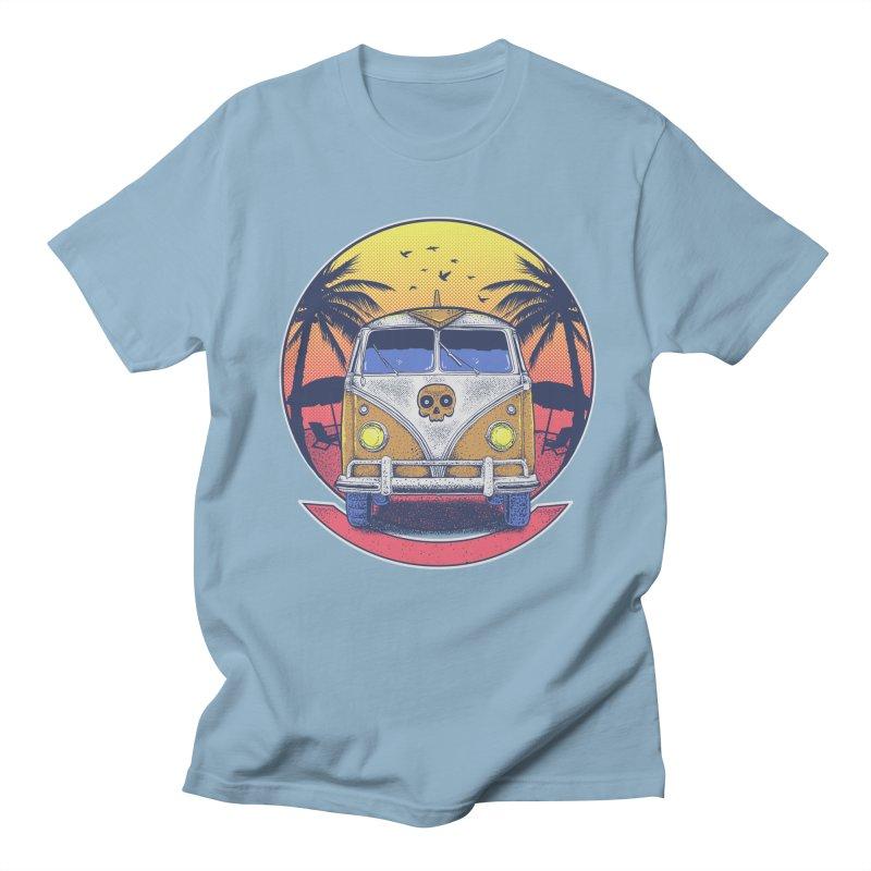 Beach Van Men's T-shirt by Fathi