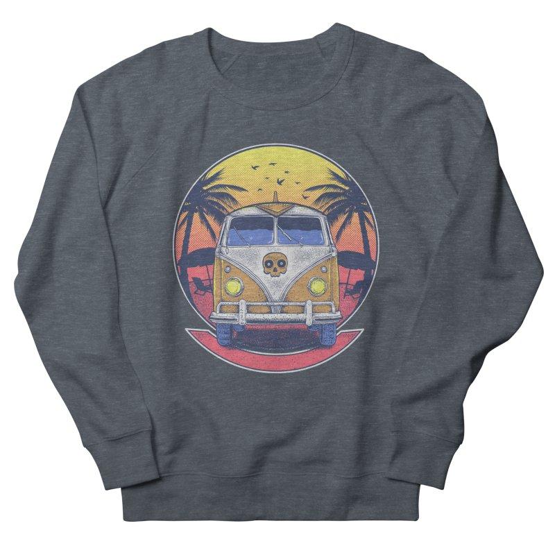 Beach Van Men's Sweatshirt by Fathi