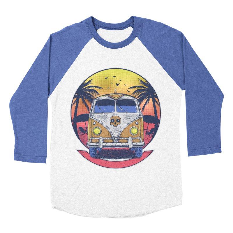 Beach Van Women's Baseball Triblend Longsleeve T-Shirt by Fathi