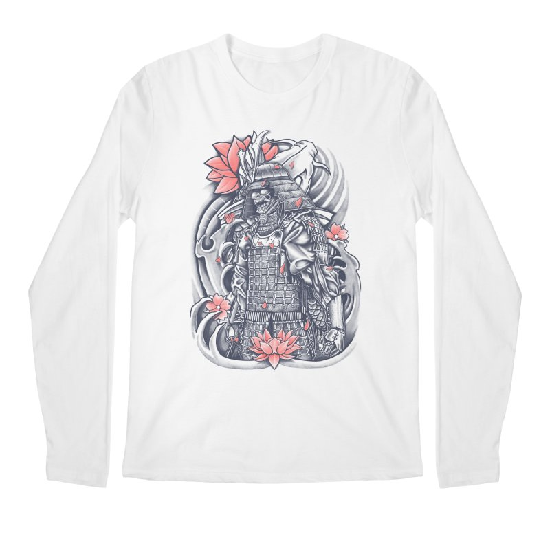 Warrior Men's Longsleeve T-Shirt by Fathi