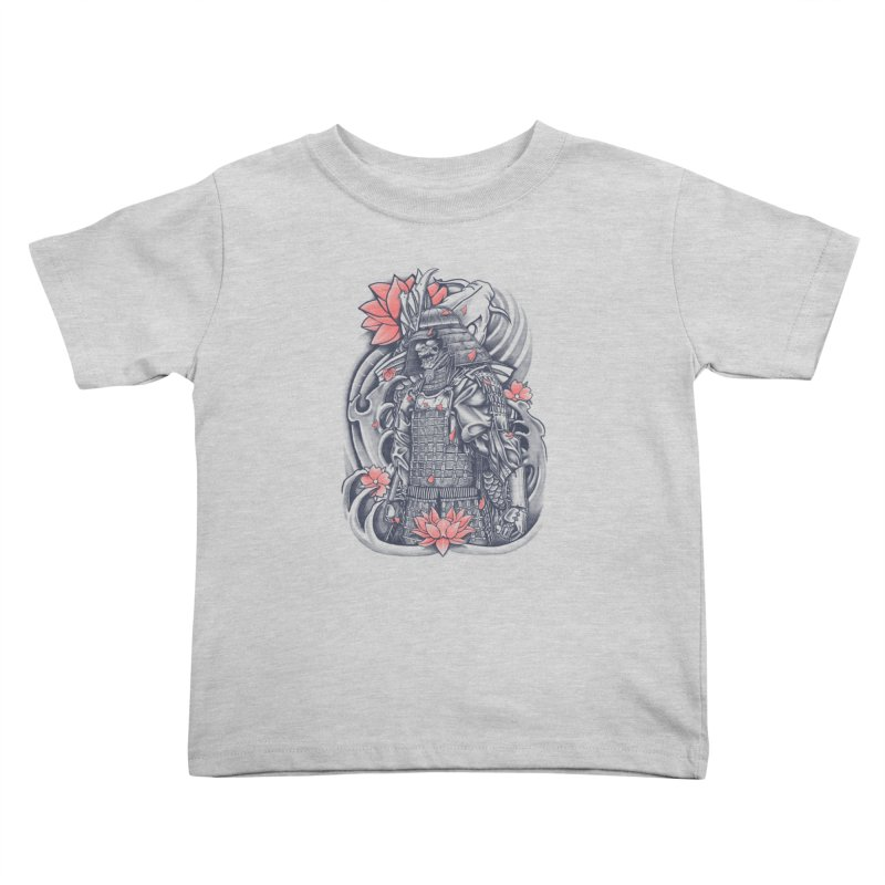 Warrior Kids Toddler T-Shirt by Fathi