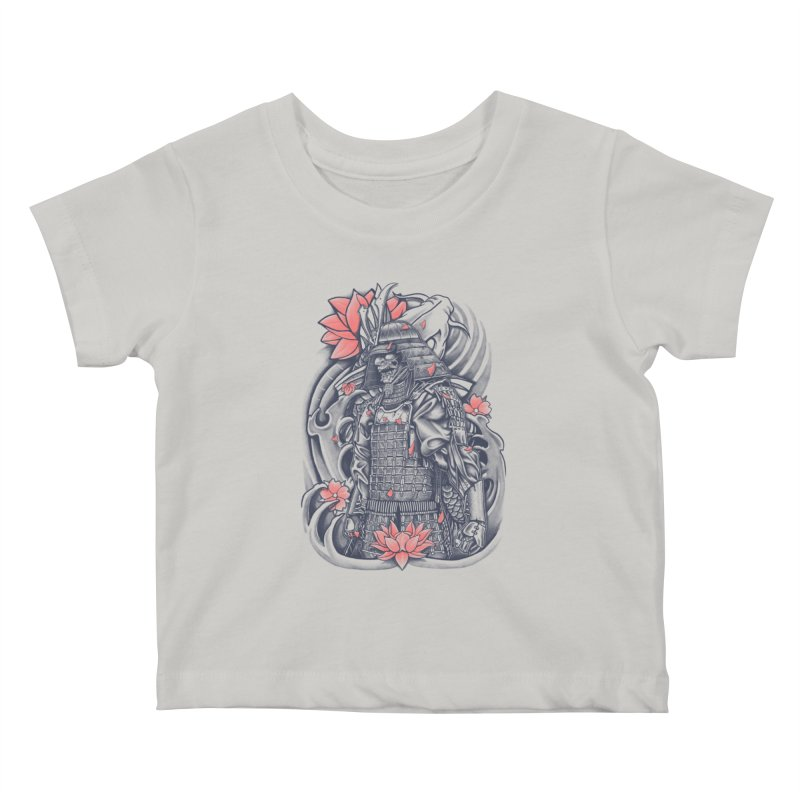 Warrior Kids Baby T-Shirt by Fathi