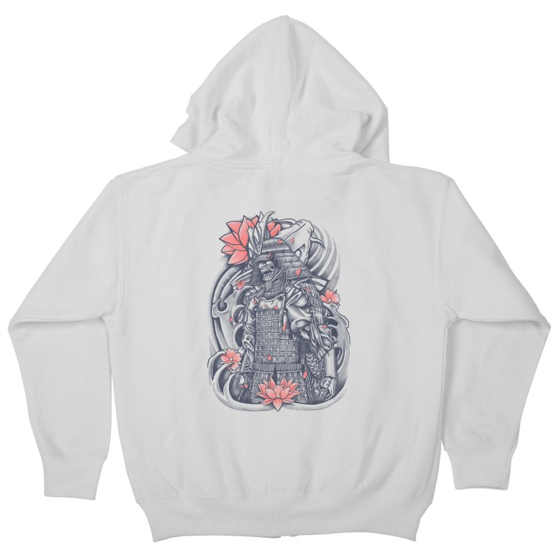 Warrior Kids Zip-Up Hoody by Fathi