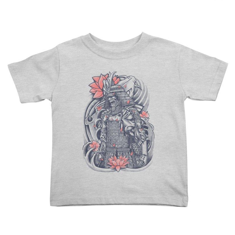 Warrior Kids Toddler T-Shirt by Fathi