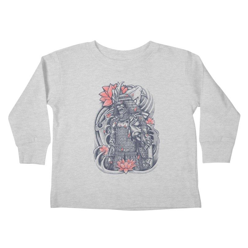 Warrior Kids Toddler Longsleeve T-Shirt by Fathi