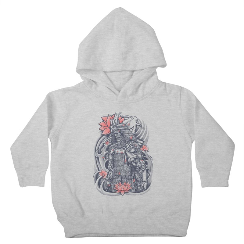 Warrior Kids Toddler Pullover Hoody by Fathi