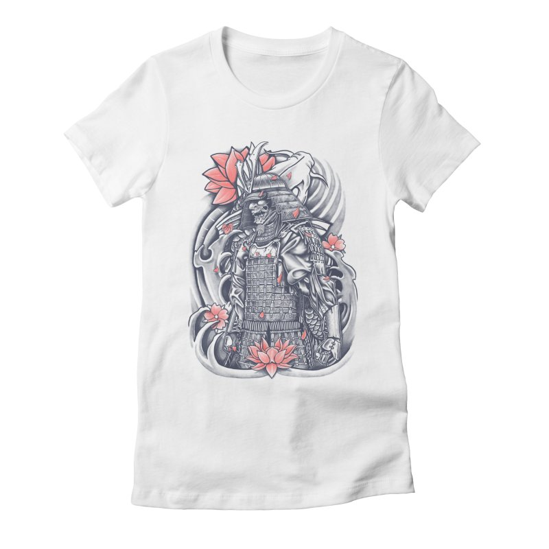 Warrior Women's Fitted T-Shirt by Fathi
