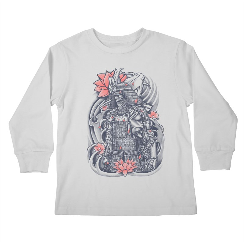 Warrior Kids Longsleeve T-Shirt by Fathi