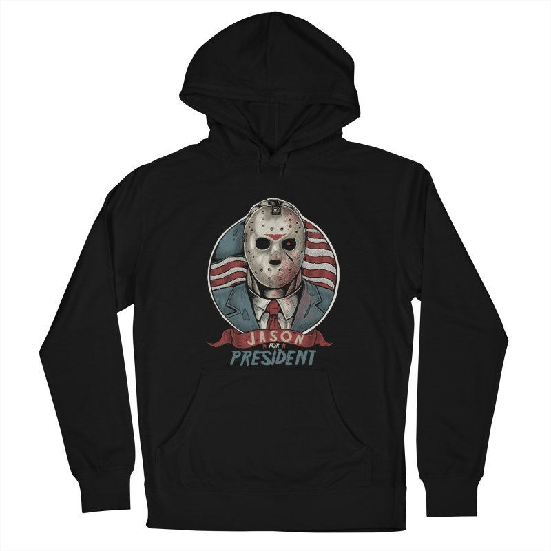 Jason For President Men's Pullover Hoody by Fathi