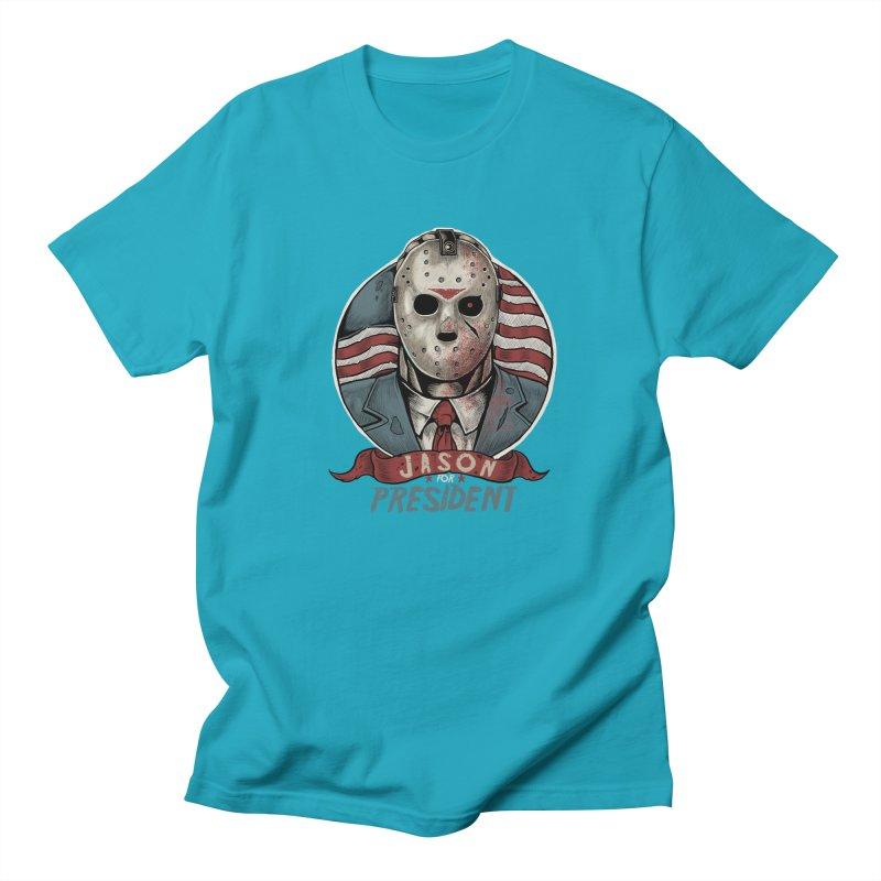 Jason For President Women's Unisex T-Shirt by Fathi