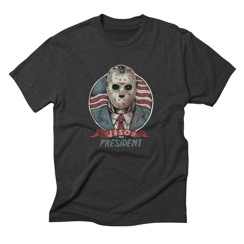 Jason For President Men's Triblend T-shirt by Fathi