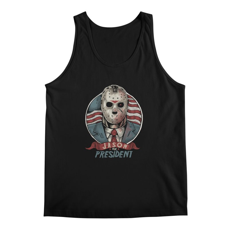 Jason For President Men's Tank by Fathi