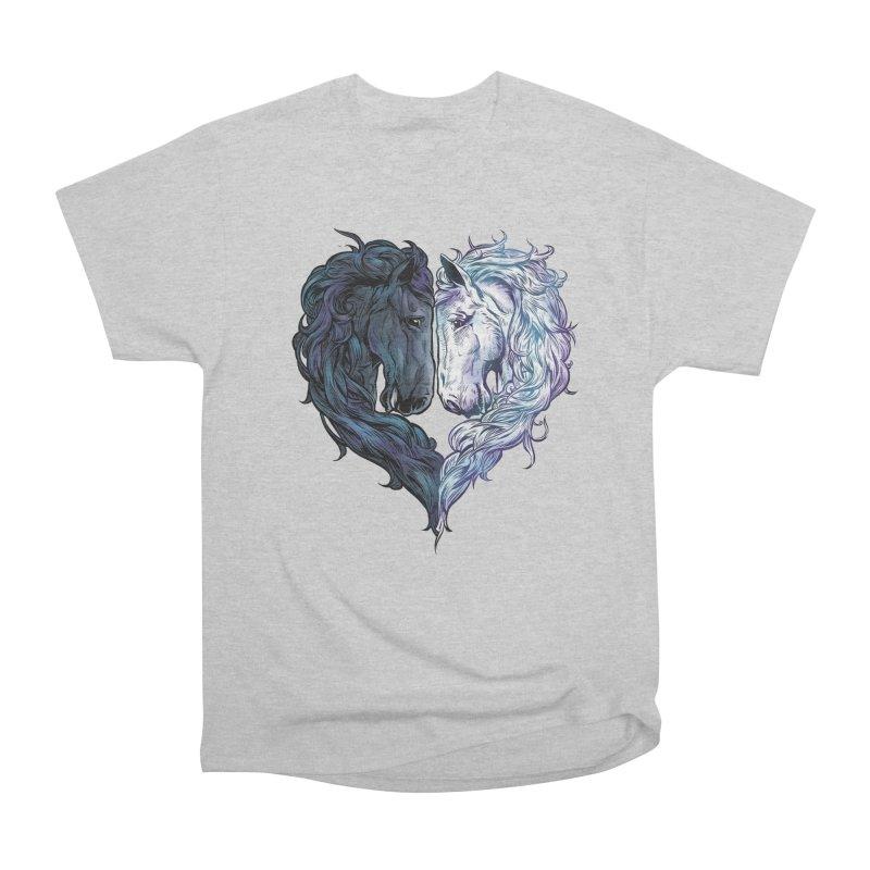 Love Horses Men's T-Shirt by Fathi