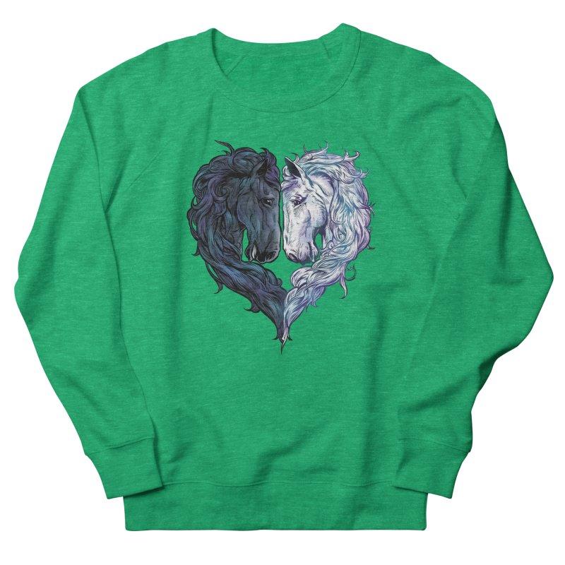 Love Horses Women's Sweatshirt by Fathi