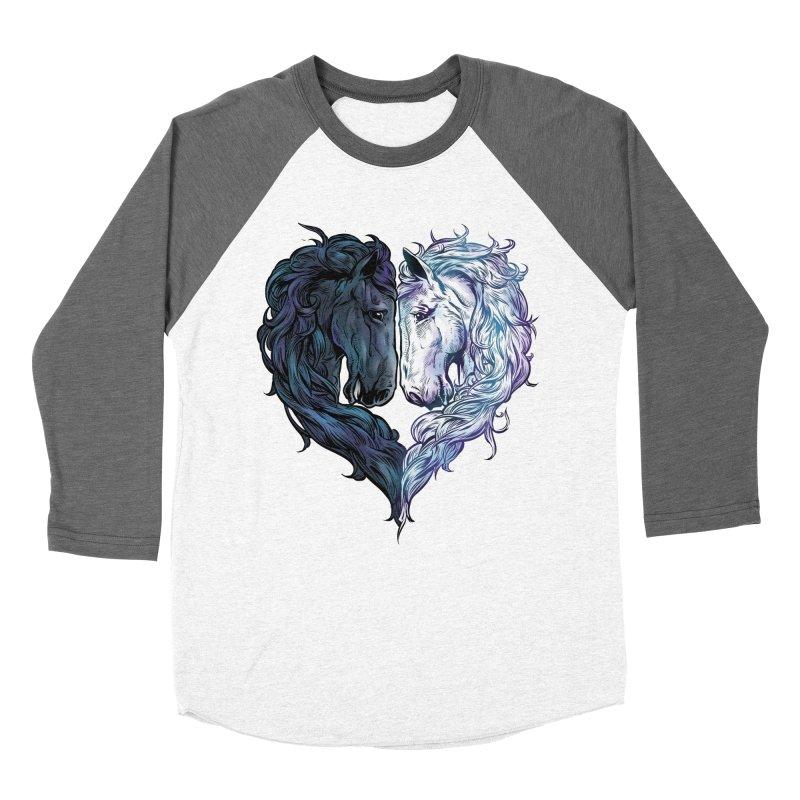 Love Horses Women's Longsleeve T-Shirt by Fathi