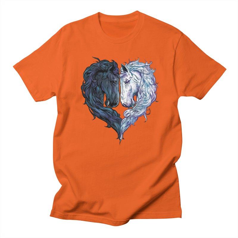 Love Horses Women's Regular Unisex T-Shirt by Fathi