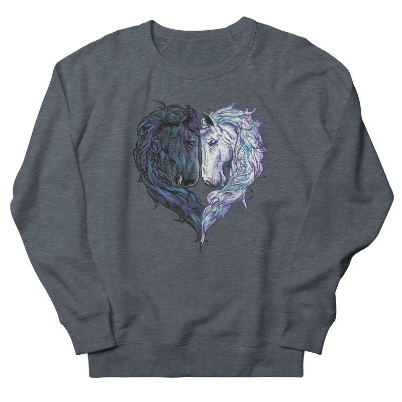 Love Horses Men's Sweatshirt by Fathi