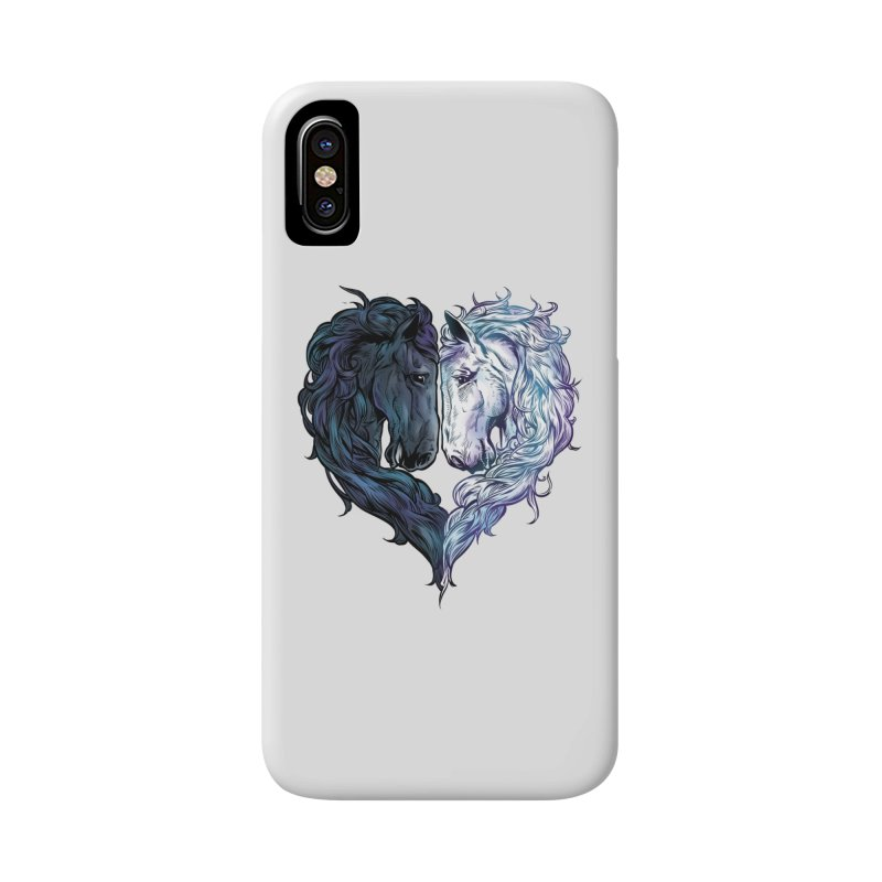Love Horses Accessories Phone Case by Fathi