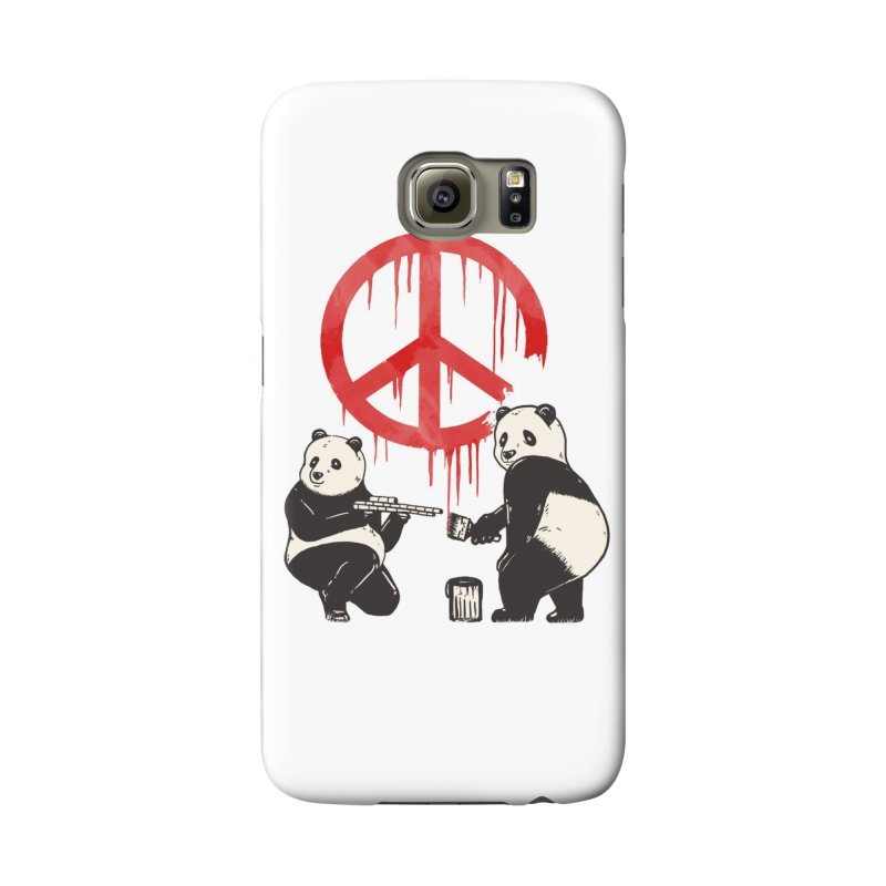 Pandalism Peace Sign Accessories Phone Case by Fathi