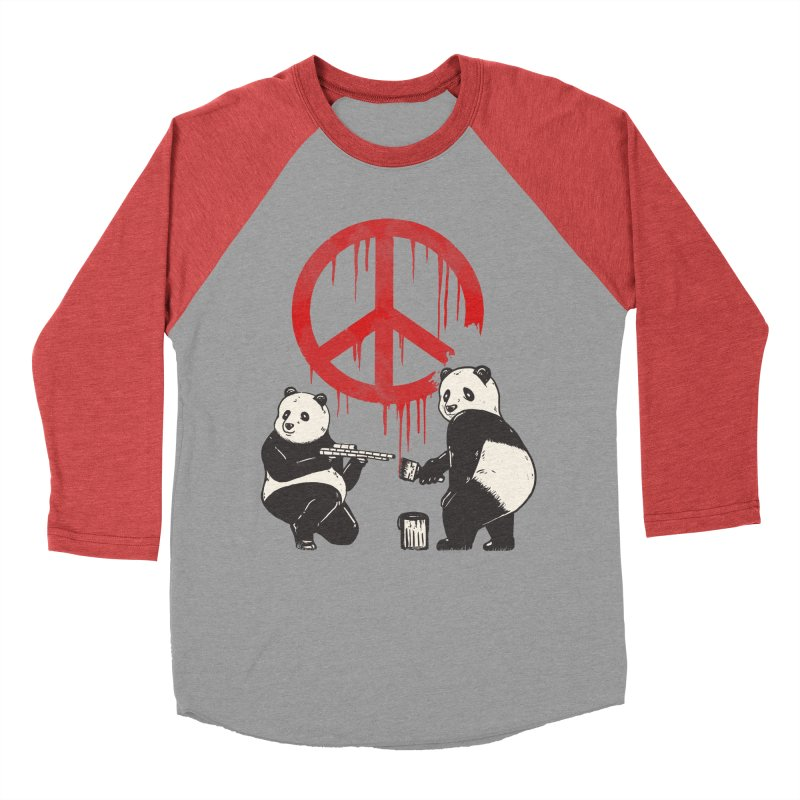 Pandalism Peace Sign Men's Longsleeve T-Shirt by Fathi