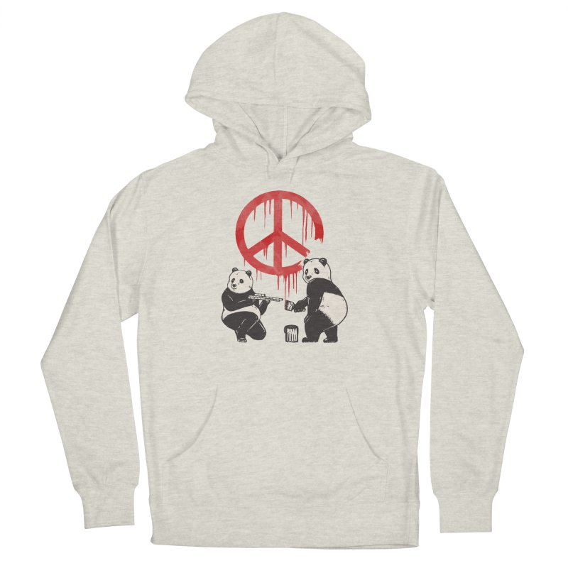 Pandalism Peace Sign Men's Pullover Hoody by Fathi