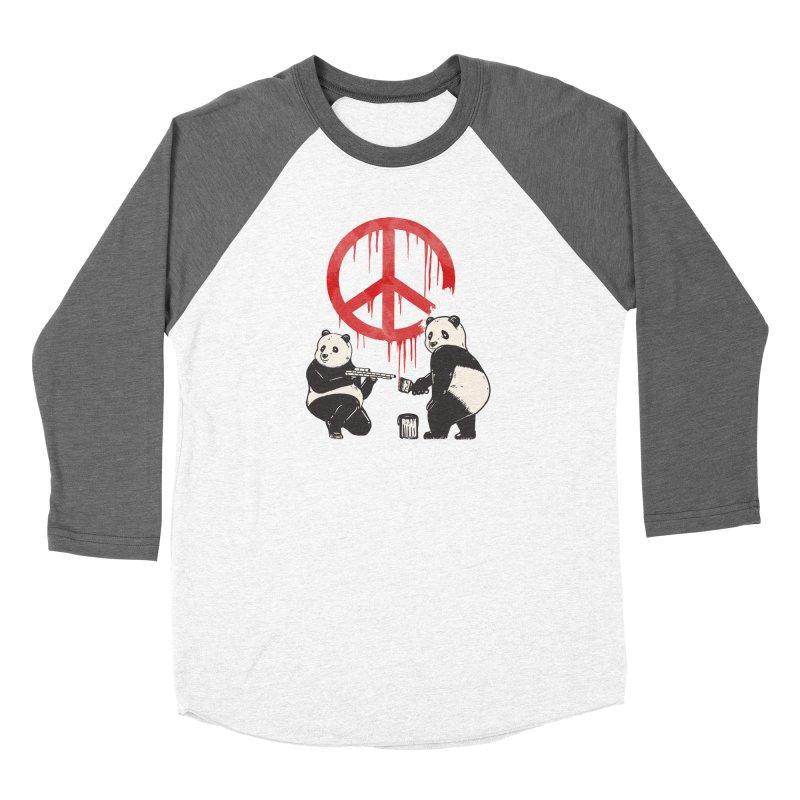 Pandalism Peace Sign Women's Longsleeve T-Shirt by Fathi