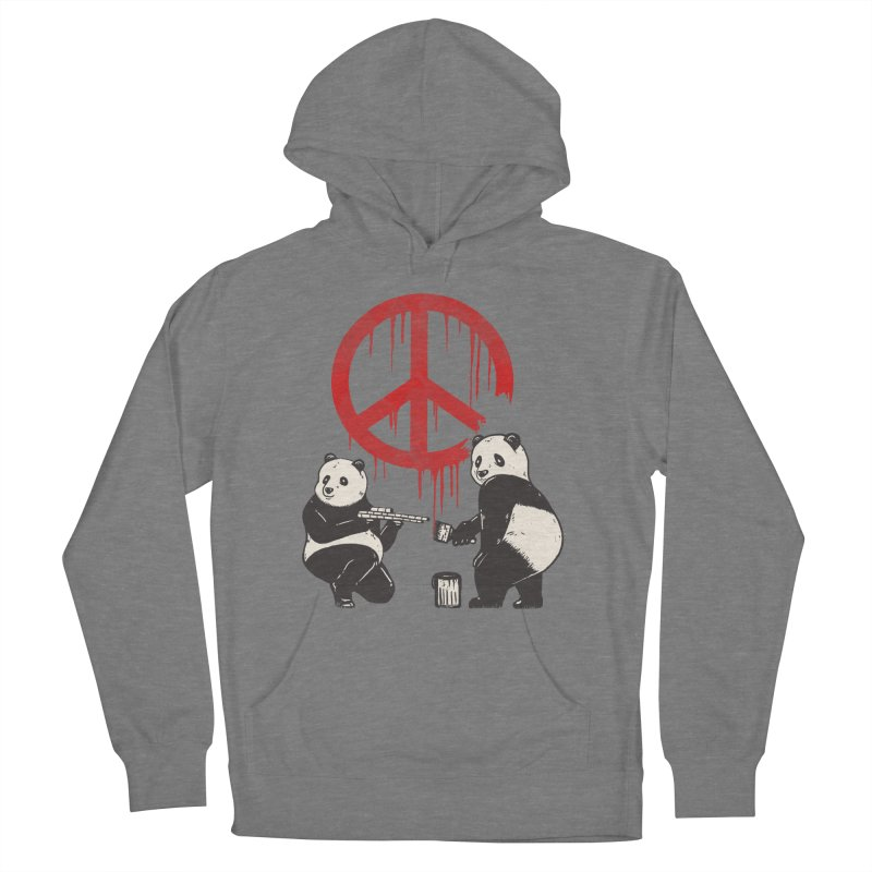 Pandalism Peace Sign Women's Pullover Hoody by Fathi