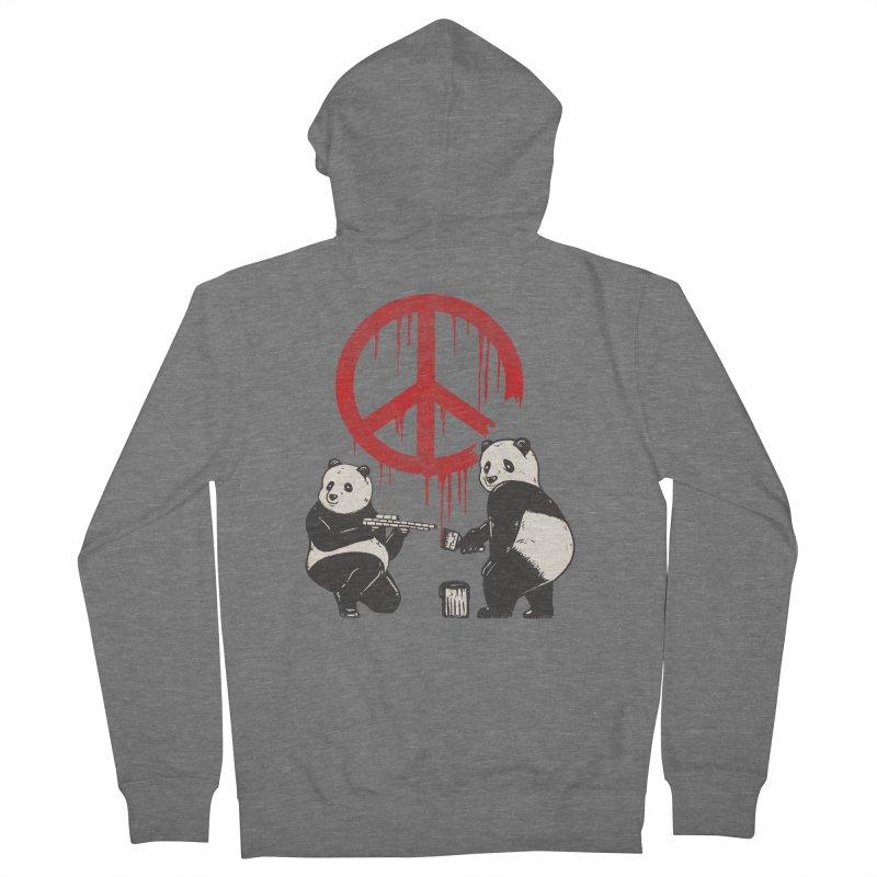 Pandalism Peace Sign Women's Zip-Up Hoody by Fathi