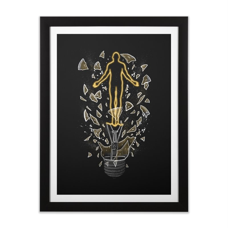 How To Save a Life Home Framed Fine Art Print by Fathi