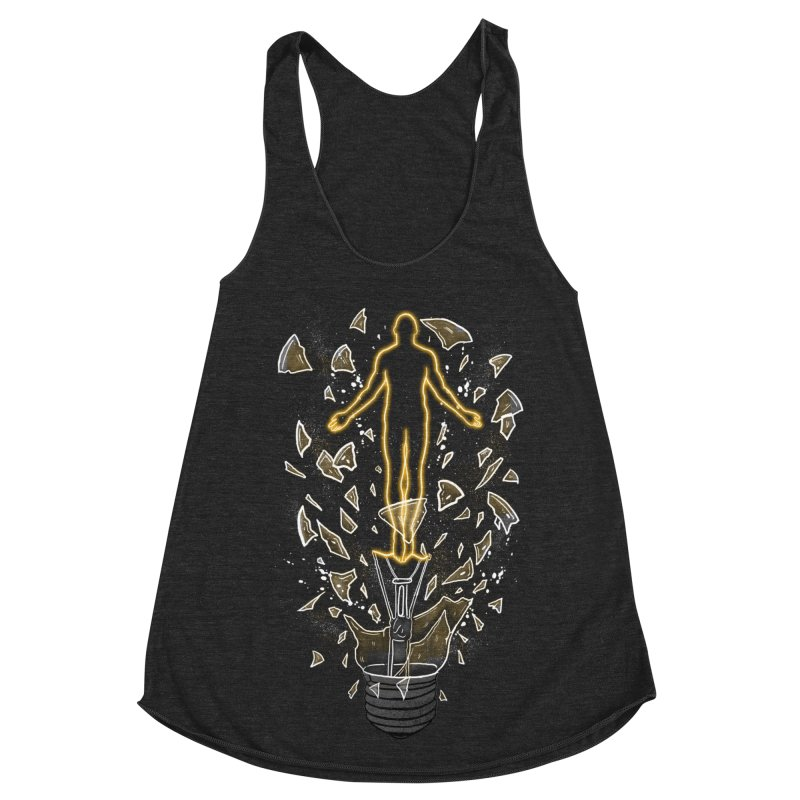 How To Save a Life Women's Racerback Triblend Tank by Fathi