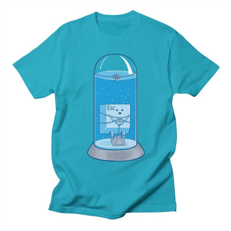 Escape Artist Men's T-Shirt by Fathi