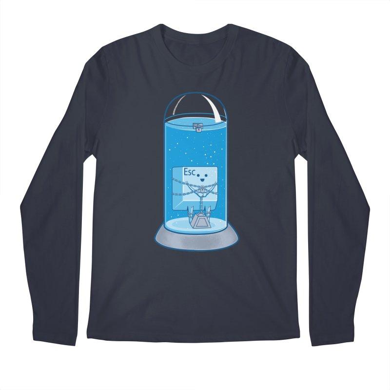 Escape Artist Men's Longsleeve T-Shirt by Fathi