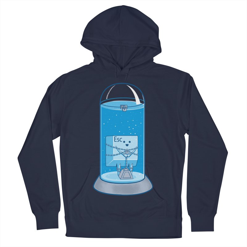 Escape Artist Men's Pullover Hoody by Fathi