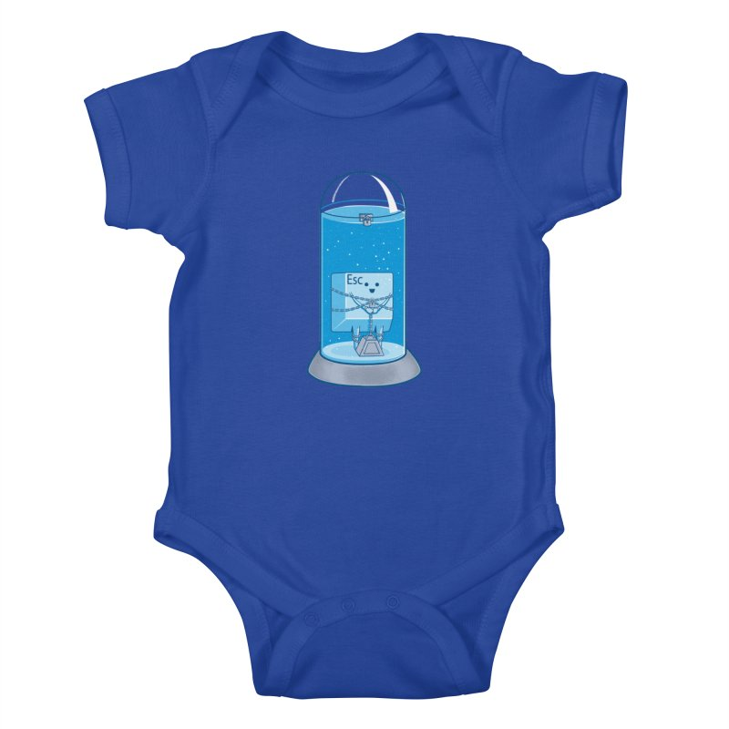 Escape Artist Kids Baby Bodysuit by Fathi